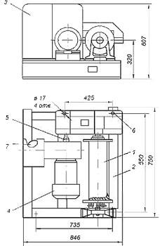 Лебедка тяговая электрическая ТЭЛ-1